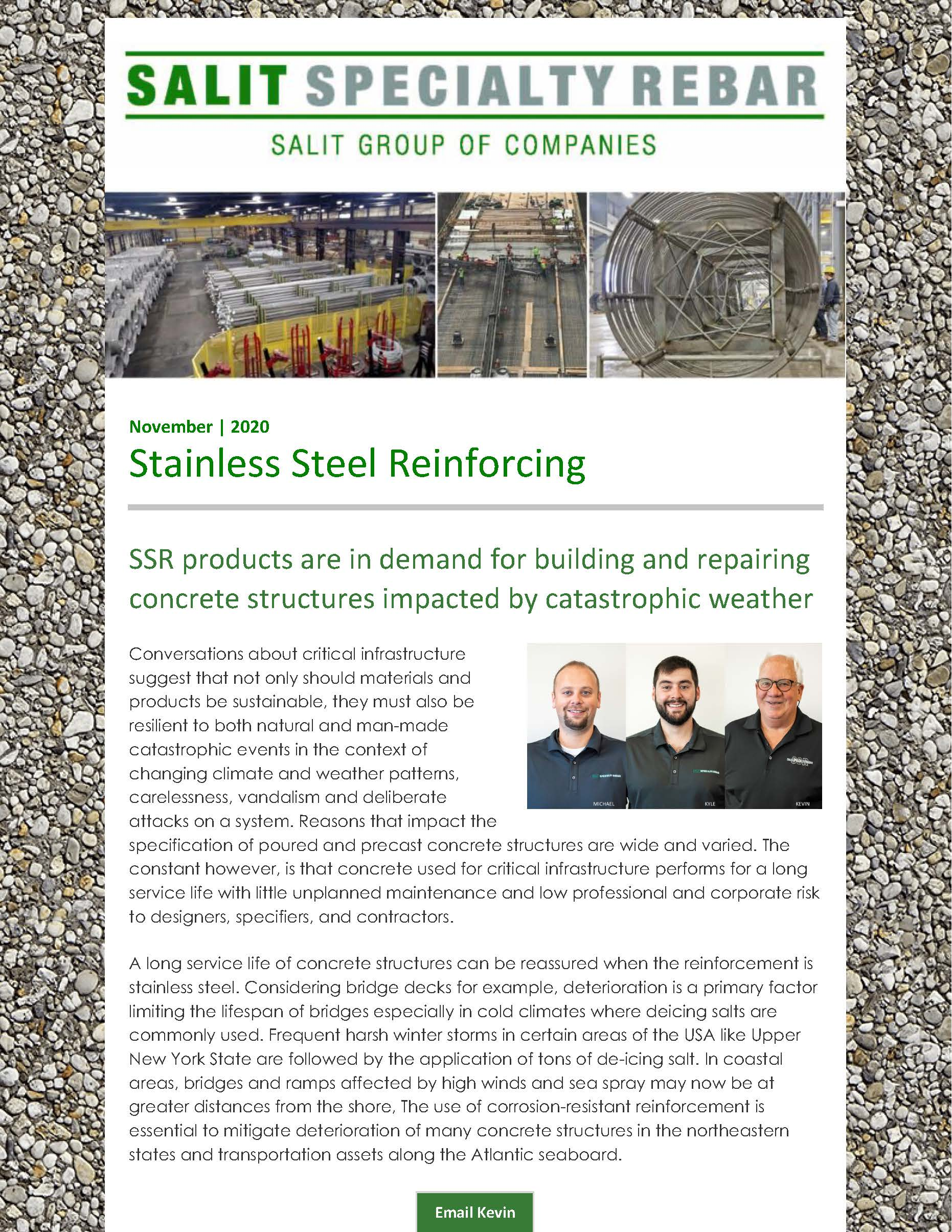 Stainless Steel Reinforcing